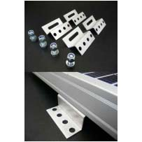50mm Solar Panel Bracket - Z Shape