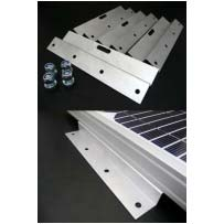 200mm Solar Panel Bracket - Z Shaped