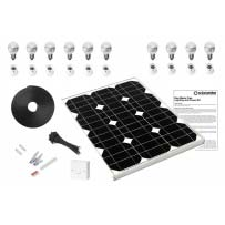 Geo 5 - Mains Free Solar LED Lighting Kit