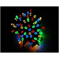 Solar Fairy Lights - Colour Changing 100 LEDs