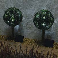 Solar Bay Tree Lights (Set of 2)