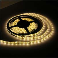 12v 3528SMD IP68 Waterproof LED Strip 5m Warm White
