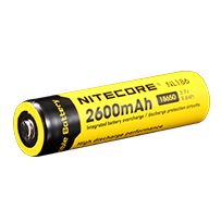 Nitecore 18650 2600mAh Rechargeable Battery for Lumify USB Solar Lights