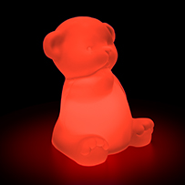 Shimmer Solar Mood Light - Bear