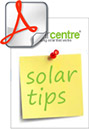 Getting the best from your solar products